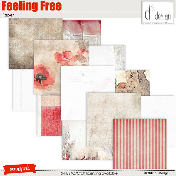 Feeling Free Paper by d's design