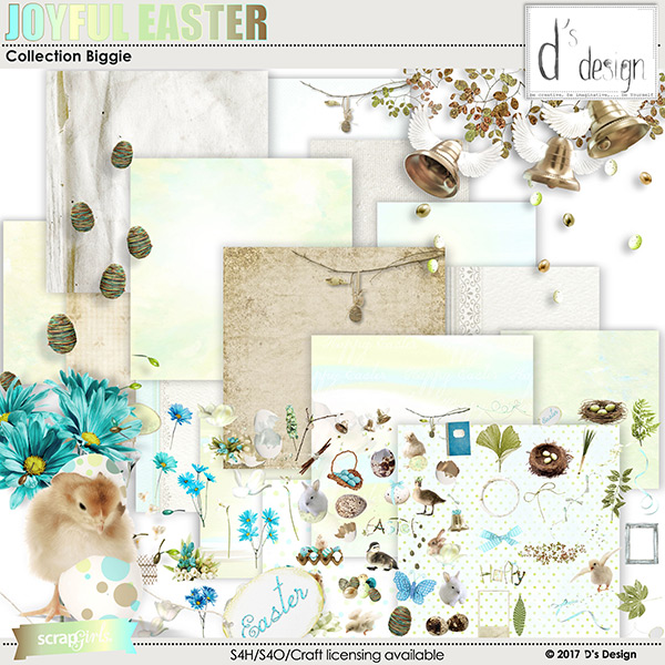 joyful easter collection by d's design