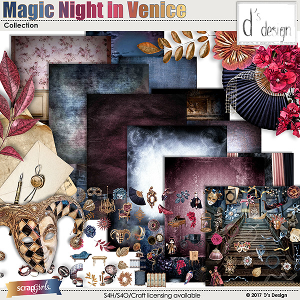 magic night in venice collection by d's design