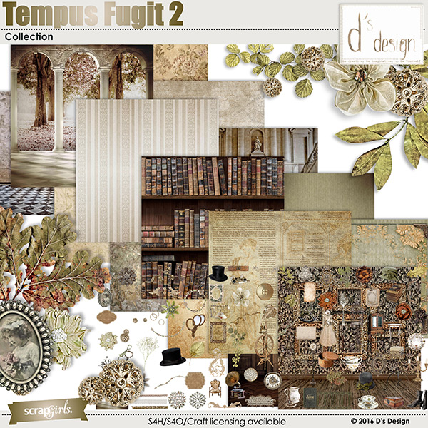 tempus fugit 2 collection by d's design
