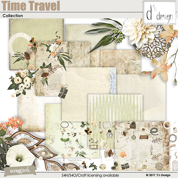 time travel collection by d's design