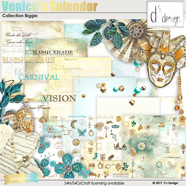 venice's splendor collection biggie by d's design