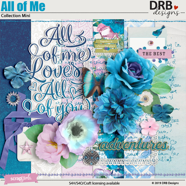All of Me Collection Mini by DRB Designs | ScrapGirls.com