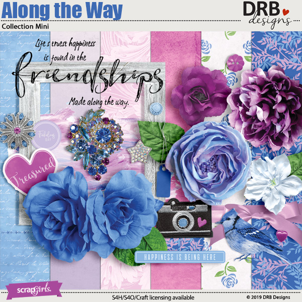 Along the Way Collection Mini by DRB Designs | ScrapGirls.com