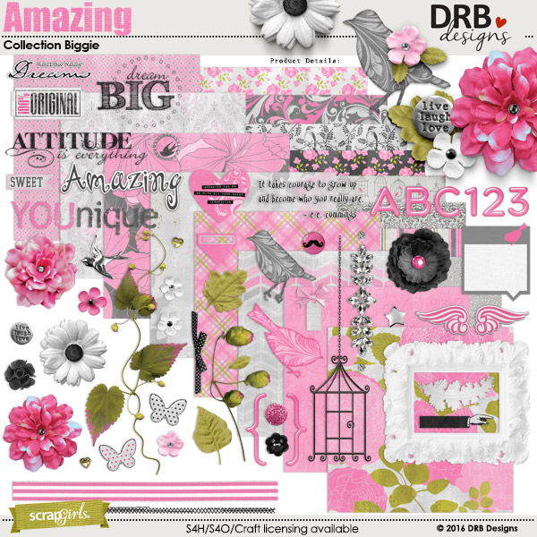 Amazing Collection Biggie by DRB Designs | Scrapgirls.com