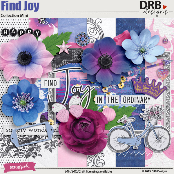 Find Joy Collection Mini by DRB Designs | ScrapGirls.com