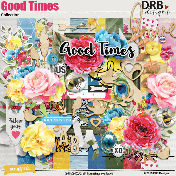 Good Times Collection by DRB Designs | ScrapGirls.com