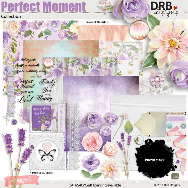 Perfect Moment Collection by DRB Designs | ScrapGirls.com