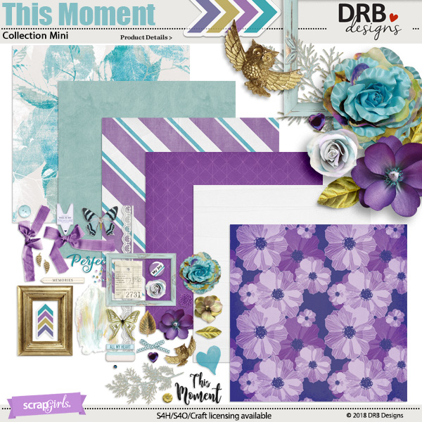 This Moment Collection Mini by DRB Designs | ScrapGirls.com