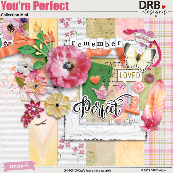 You're Perfect Collection Mini by DRB Designs | ScrapGirls.com