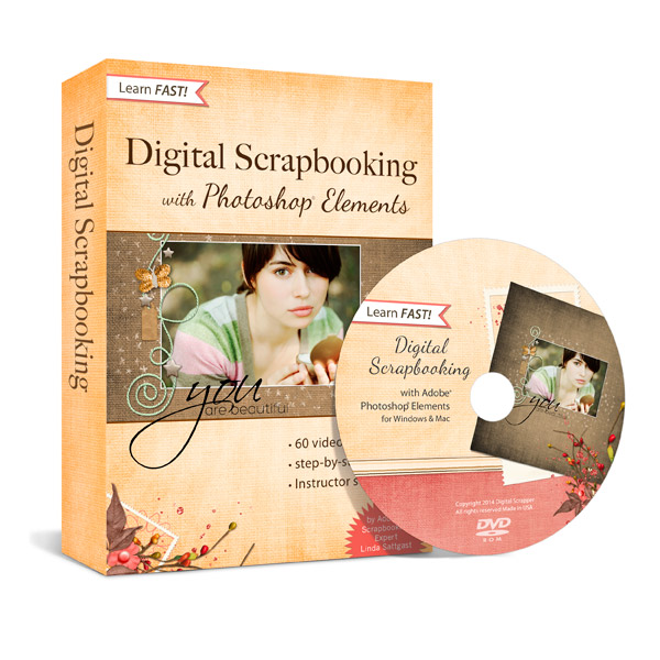 Learn Digital Scrapbooking Using Photoshop Elements