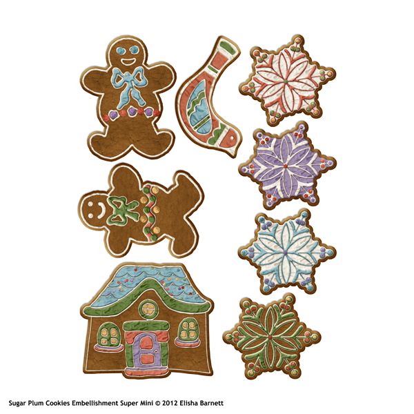 "You may also like <a href=""http://store.scrapgirls.com/sugar-plum-cookies-embellishment-mini-p27477.php"">Sugar Plum Cookies Embellishment Mini</a> (sold separately)"