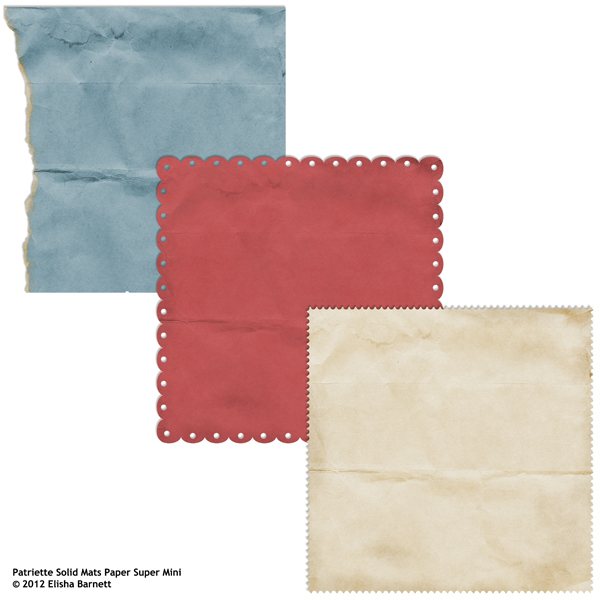 "You may also like <a href=""http://store.scrapgirls.com/product/26142/"">Patriette Solid Mats Paper Super Mini</a> (sold separately)"
