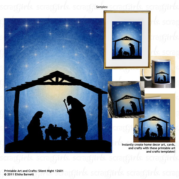 You may also like Printable Art and Crafts: Silent Night 12601