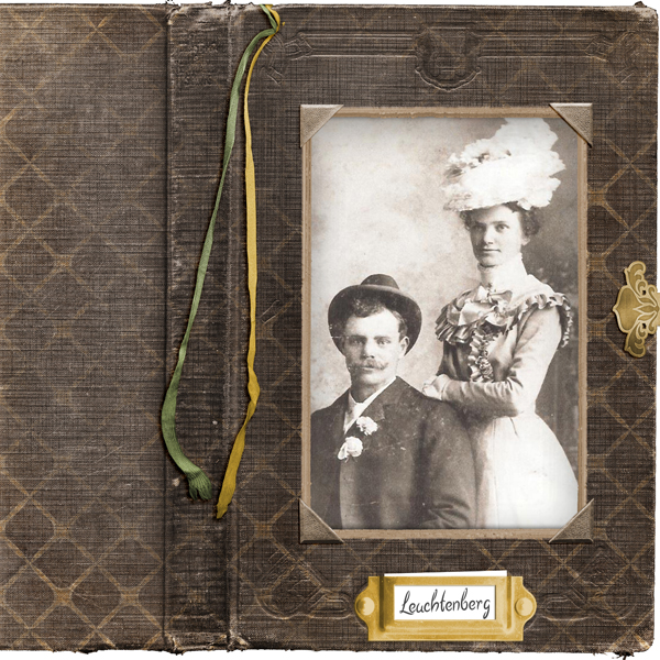 Layout by Elisha Barnett (supplies listed below)
