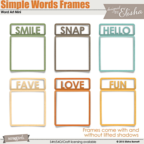 Fantastic Words In Picture Frames Collection - Custom Picture Frame ...