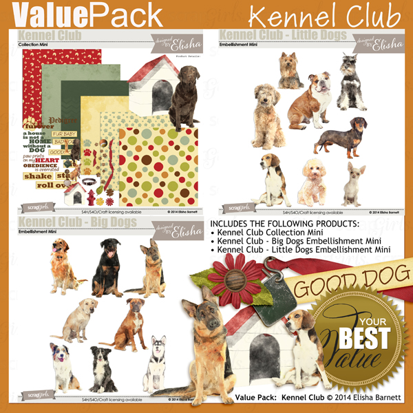 Value Pack: Kennel Club