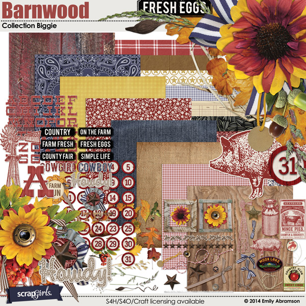 Barnwood Collection Biggie
