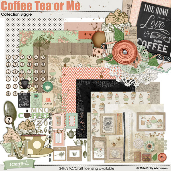 Coffee Tea or Me Collection Biggie