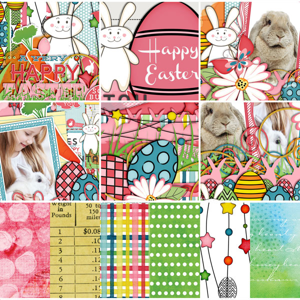 Cottontail Collection Biggie Close Up