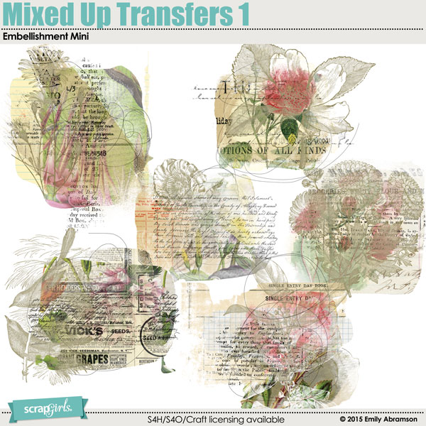 Also Available: Mixed Up Transfers Embellishment Mini 1