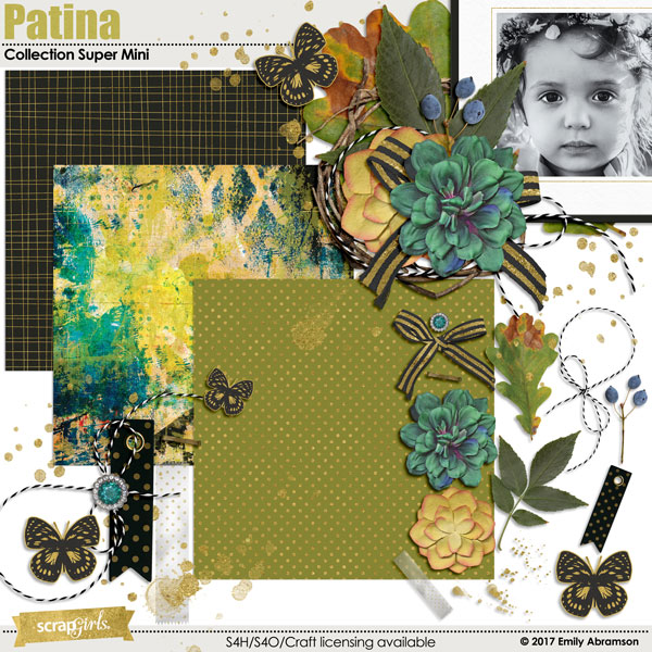 Patina Collection Super Mini