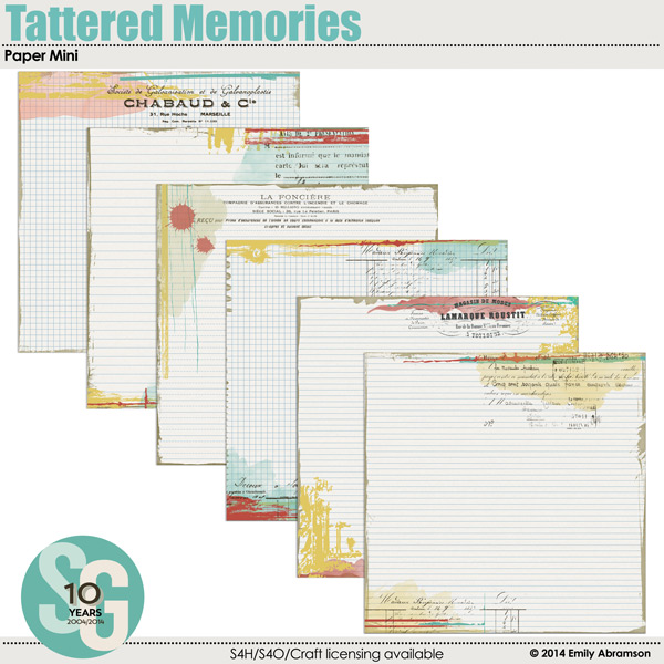 Tattered Memories Paper Mini