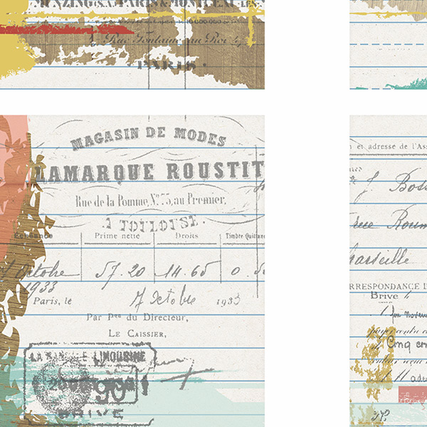 Tattered Memories Pocket Life Cards Close Up