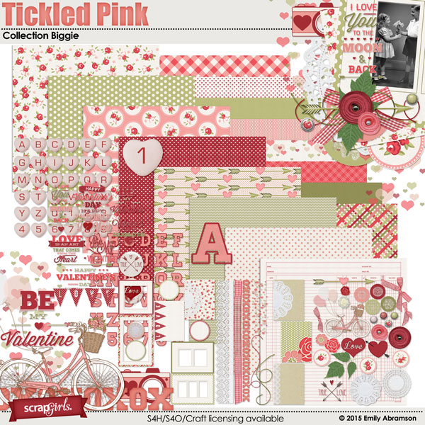 Tickled Pink Collection Biggie