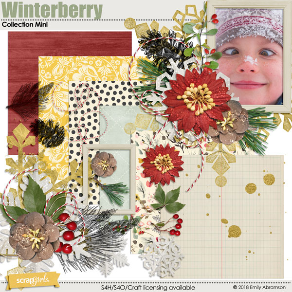 Winterberry Collection Mini