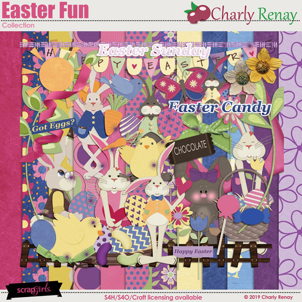 Easter Fun Collection By Charly Renay