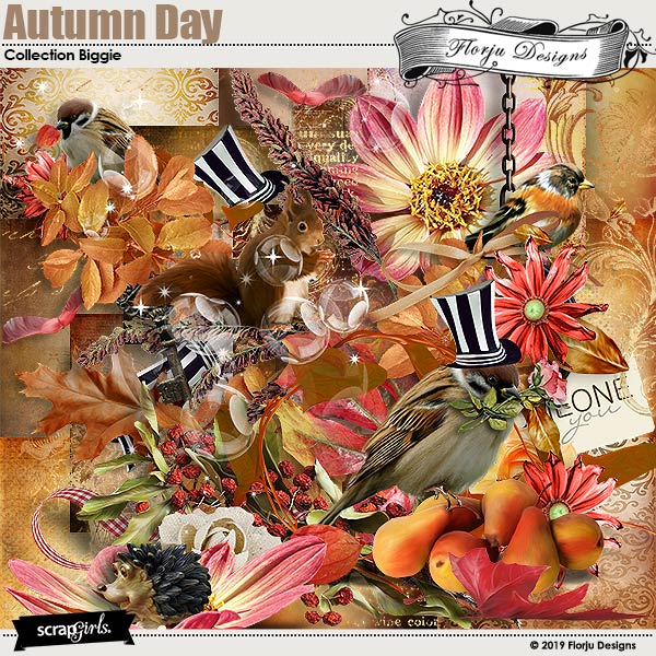 Autumn Day Collection Biggie by Florju Designs
