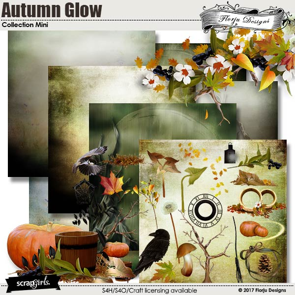 Autumn Glow Collection Mini by florju designs