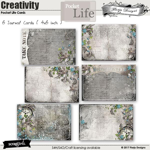 Pocket Life: Creativity by Florju Designs