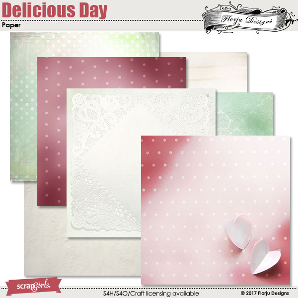 Delicious Day Paper Mini by florju designs