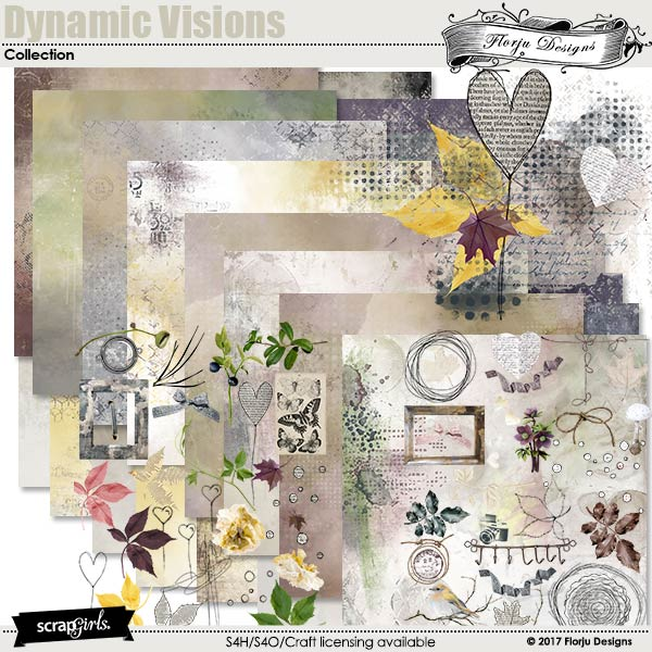 Dynamic Visions Collection by florju designs