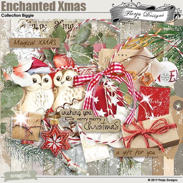 Enchanted Xmas Collection Biggie by Florju Designs