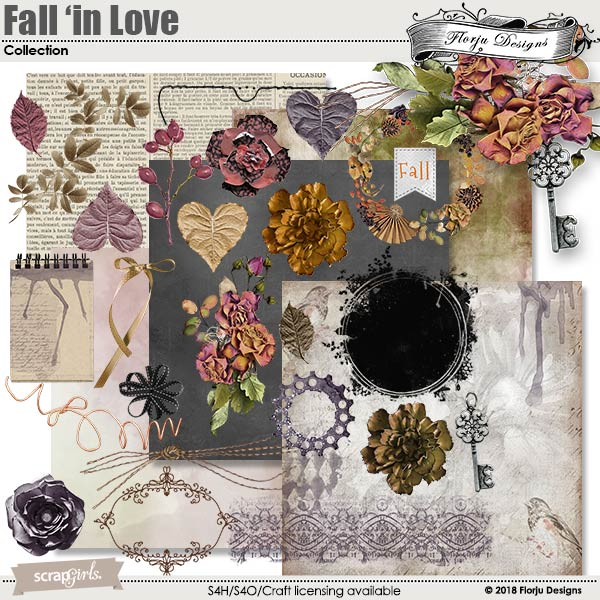 Fall'in Love Collection Mini by florju designs