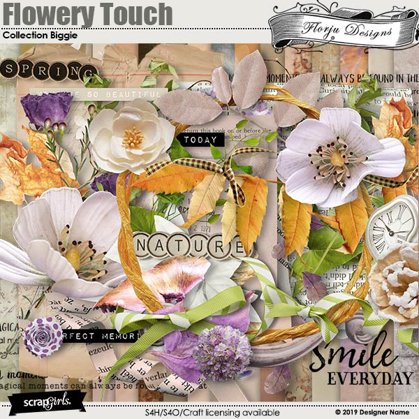 Flowery Touch Collection Biggie by Florju Designs