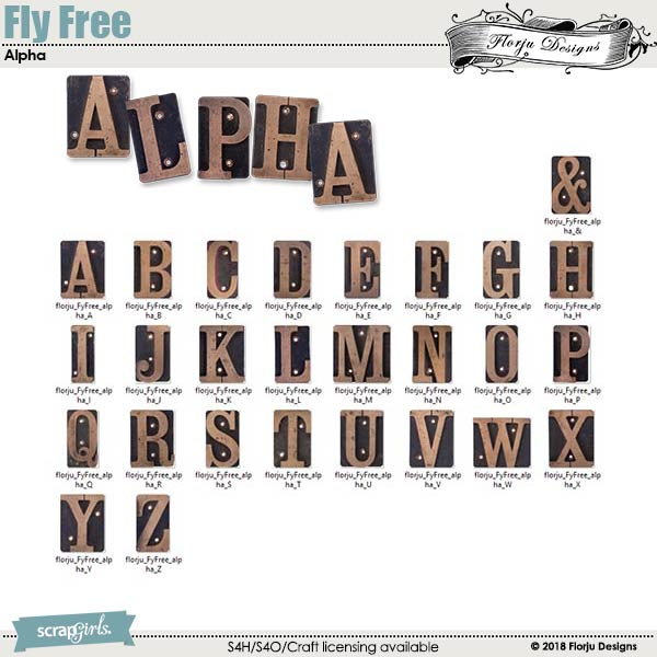 Fly Free Alpha by florju designs