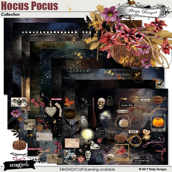 Hocus Pocus Collection by florju designs