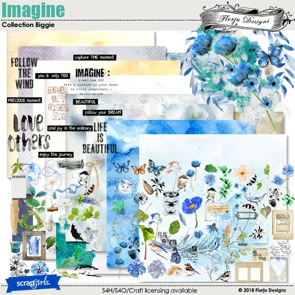 Imagine Collection Biggie by Florju Designs