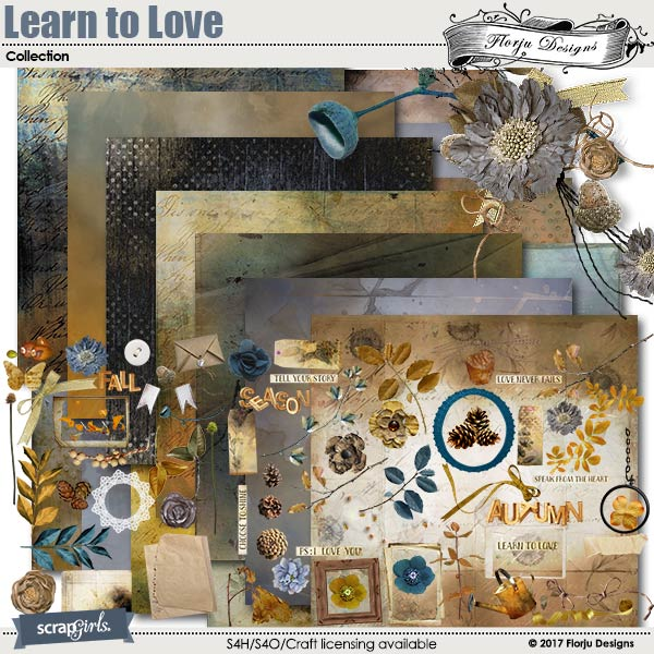 Learn To Love Collection by florju designs