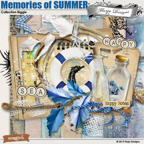 Memories Of SUMMER Collection Biggie by Florju Designs