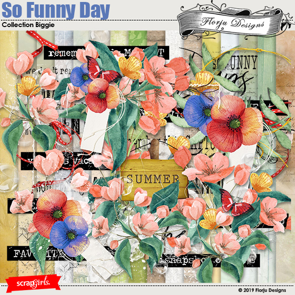 So Funny Day Collection Biggie by Florju designs