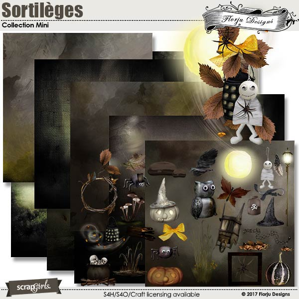 Sortileges Collection Mini b y florju designs