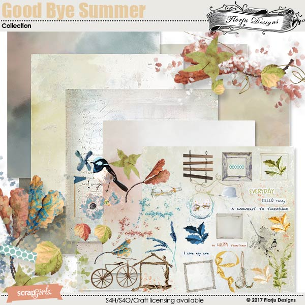 GoodBye Summer Collection by florju designs