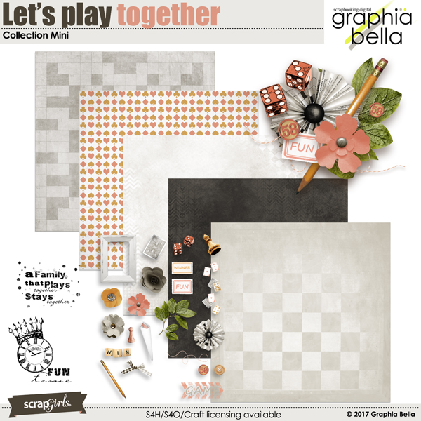 Let's play together Collection Mini by Graphia Bella