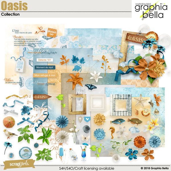 Oasis by Graphia Bella