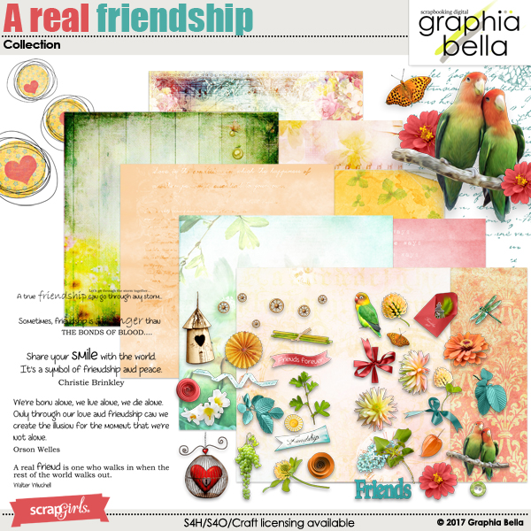 A real friendship Collection by Graphia Bella